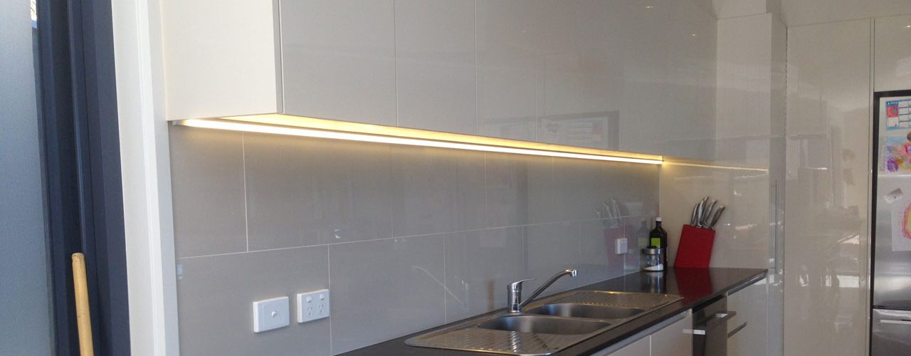 kitchen lighting work by Canberra Electrician